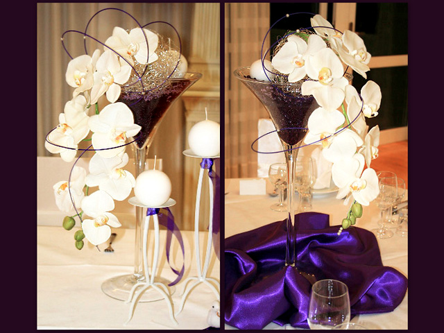 Wedding flolal centerpieces