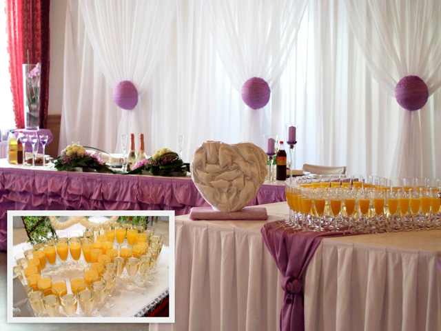 Wedding table decorations | Wedding reception decorations