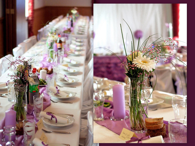 Wedding table decorations wedding reception decorations for Wedding table decoration ideas