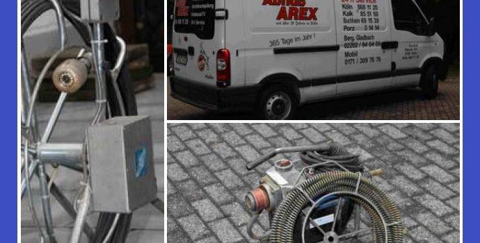 Abfluß AREX – Rohrreinigung in Köln und Bergisch Gladbach