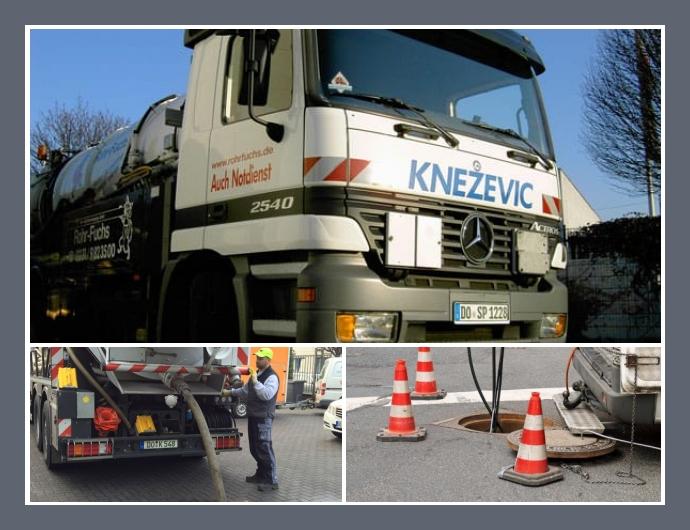 Abfluss- und Rohrreinigung Knezevic Notdienst Dortmund, Herdecke, Recklinghausen