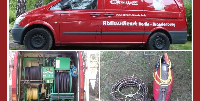 Abflussdienst Berlin-Brandenburg – Rohrreinigung in Berlin, Potsdam, Cottbus, Bernau bei Berlin