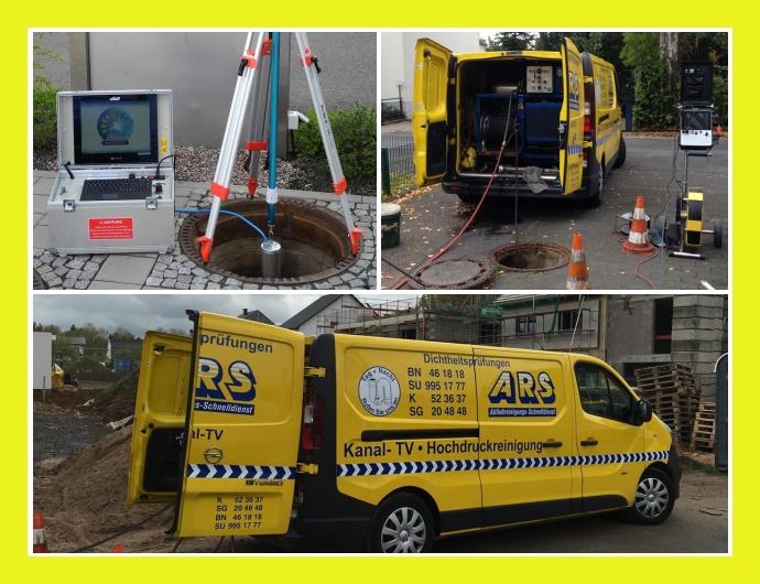 ARS-Abflussreinigungs-Schnelldienst Rohrreinigung Bonn, Köln, Remscheid, Leverkusen