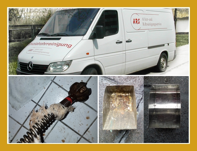 ARS Abluft- und Rohrreinigungsservice Rothe Notdienst  Leipzig, Halle, Chemnitz, Zwickau