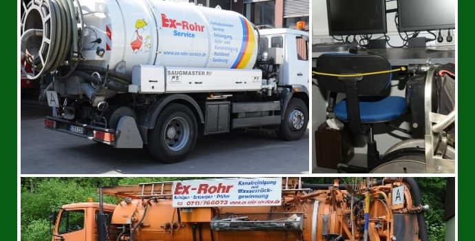 Ex-Rohr-Service – Rohrreinigung in Filderstadt, Ludwigsburg, Böblingen, Stuttgart