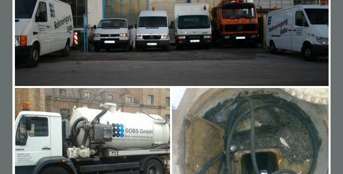 GOBS GmbH – Rohrreinigung in Stuttgart, Esslingen, Waiblingen, Leonberg