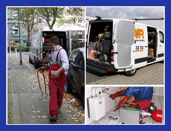 Hannecke GmbH Rohrreinigung Oberhausen, Duisburg, Essen, Bochum