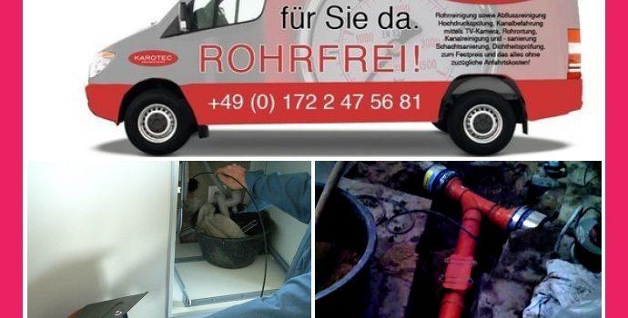 KAROTEC Abwassertechnik – Rohrreinigung in Stuttgart, Leonberg, Ludwigsburg, Pforzheim