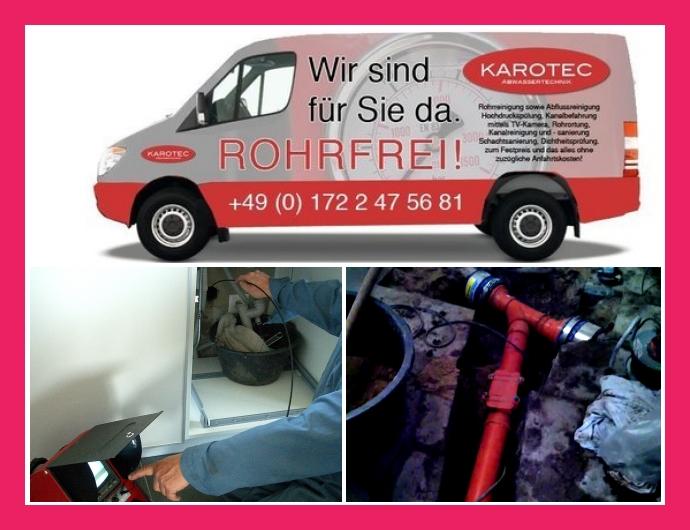 KAROTEC Abwassertechnik Rohrreinigung Stuttgart, Leonberg, Ludwigsburg, Pforzheim
